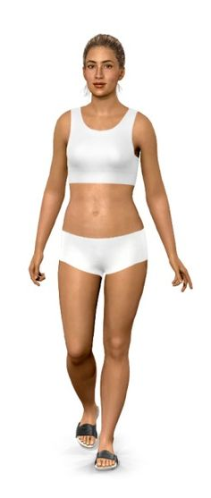 great site! plug in all your accurate body calculations and it will show you how you look. Then type in your goal weight and see the change.