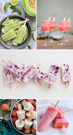 I'm on a #icepop kick right now! Ice lolly recipes : Ice lolly cocktails : Ice pops : Healthy ice pop