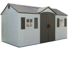 The introduction of the Durable Blow Molded Lifetime Outdoor Storage Shed 8 x 10 has rocked the outdoor storage industry, proving once again that innovation, passion and a drive to make better products can revolutionize an entire market. The Sentinel 6405 Lifetime Shed is similar to the Lifetime Brighton shed and will help you maximize your equipment storage potential.