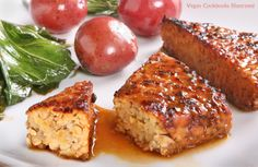 Smoky Grilled Tempeh from the cookbook Veganomicon - #vegan #vegangrilling