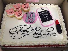 Pretty Little Liars birthday cake