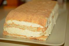 cum se face prajitura cu fructe si crema Romanian Food, Romanian Recipes, Vanilla Cake, Bread, Desserts, Mac, Cakes, Tailgate Desserts, Deserts