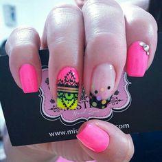 Nail Patterns, Nail Decorations, Nail Designs, Triangles, Nails, Creative, Beauty, Board, Nail Art