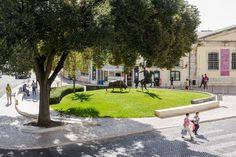 Landscape project designed by Topiaris - Campino Square in Vila Franca de Xira