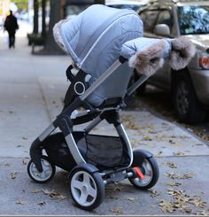 Keep baby (and your hands) cozy warm this winter with Stokke !