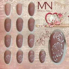 Gelpaint nailart step by step
