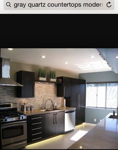 White Kitchen Cabinets With Bkack Appliances