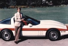 Dirk Benedict A-Team Corvette 1984