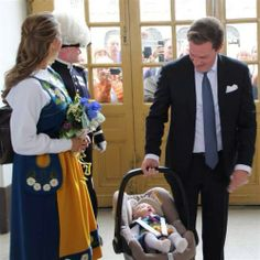 Princess madeleine with princess leonore