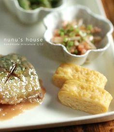 Nunu's House - Tanaka Tomo (handmade miniatures 1/12) - Apr 2013