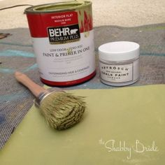 Seriously the coolest thing since chalk paint!  With BB Frosch Chalk Paint Powder, you can make chalk paint in ANY COLOR.  You can also mix up as much or as little as you need at a time.  Finally!  An affordable alternative to boutique brands--makes me want to paint everything in sight!