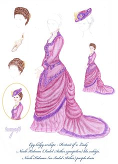 Vanda's Secret Wardrobe - Portrait of a Lady by maya40.deviantart.com on @deviantART