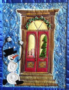 Patty Rybolt Designs - mini art quilt
