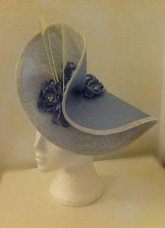 by REBECCA MOLLOY #millinery #hats #HatAcademy