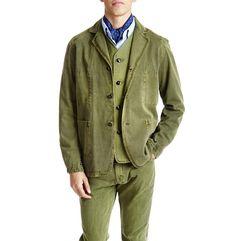 Goodwood Worksuit Jacket – Olive - Shop Online