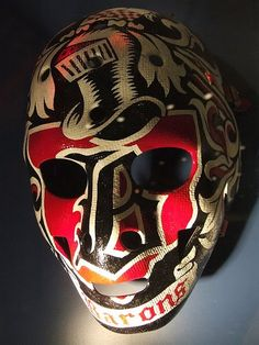 Cleveland Barons goal mask