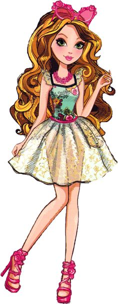 Ever After High Ashlynn Ella Mirror Beach Artwork