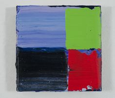 Pedro Calapez, dobrado 03, 2013, Acrylic on aluminum, 15 ¾ x 16 x 2 inches (40 x 41 x 5.5 cm), Hand folded panel