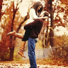 """Fall in Love"" Engagement Photography.  perfect! Now to wait till I get engaged Around fall!"