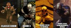 DOOM Graphics Comparison - gamefront.de