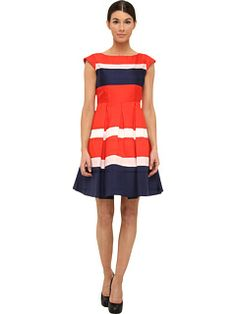 Greet the day in gorgeous glory!  Slip on the sunny silhouette of the Kate Spade New York Britta Dress. #KateSpade #ZapposCouture