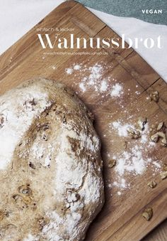 Gibt es bei kaltem regnerischen Wetter etwas Besseres als der herrliche Duft von… In cold, rainy weather, is there anything better than the wonderful smell of freshly baked bread? Then try our delicious walnut bread! Walnuts Nutrition, Diet And Nutrition, Proper Nutrition, No Bake Brownies, Vegetable Protein, Easy Diets, Vegetarian Breakfast, Bread Baking, Rainy Weather