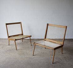 For sale: 1950's George Tigien Lounge Chairs