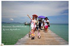 Hi, We love tour with dogs. Ko Mark, #TratThailand #Travel #Thailand ++ English language support >> http://ThailandHolidays7.com