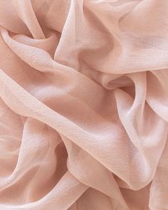 Our Gossamer textiles are made of a 'gauze' silk that is extremely sheer and delicate with a floaty drape and is very soft hand. To learn more about the different silks that we use, please visit our Info page. Aesthetic Backgrounds, Photo Backgrounds, Aesthetic Wallpapers, Tumbrl Girls, Peach Aesthetic, Aesthetic Art, Flat Lay Photography, Fabric Photography, Texture Photography