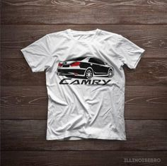 Toyota Camry XV50 100% Cotton T-shirt for Men / Woman