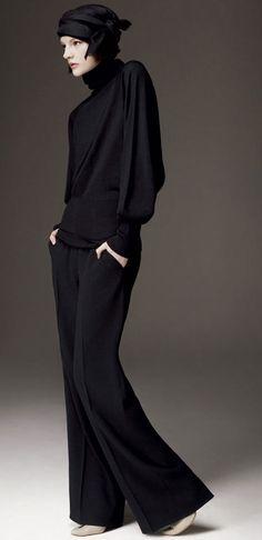 La elegancia del negro viste para cualquier ocasión haciéndola especial