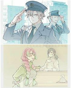 Demon Slayer, Slayer Anime, Cute Anime Pics, I Love Anime, Anime Chibi, Manga Anime, Samurai Armor, Anime Sketch, Anime Scenery