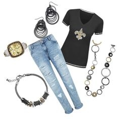 """Saints"" by sonnee-stanley on Polyvore"