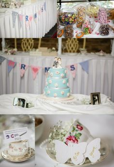 Ciara and Daniel's wedding cake and some lovely details!