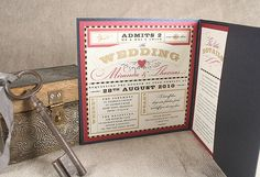 carnival wedding invitations | Wedding inspiration: Theatre part 1 | English Wedding BlogEnglish ...
