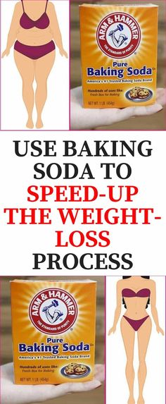 USE BAKING SODA TO SPEED-UP THE WEIGHT-LOSS PROCESS - Magical Useful Tips