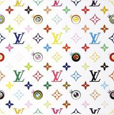 Takashi Murakami: inspirational LV patterns
