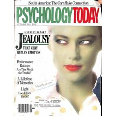 Cover Print of Psychology Today Magazine, September 1985 | $4.72