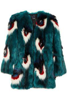Meadham Kirchhoff|Calandra faux fur coat