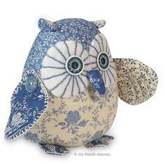 Meet Twinkle our starry-eyed owl... he's got us all in a flap!