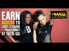 Lady Leshurr  Paigey Cakey | Access All Areas #AAAKA