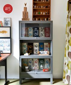 glass cabinet | collection #decor