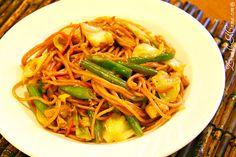 Pancit - Philippine traditional noodle dish
