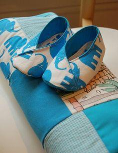 Simonablanket and matching Viktoriashoes