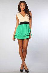 #Karmaloop Reverse Color Block dress  $70