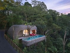 The Keemala Hotel in Phuket, Thailand is a modern, treetop hotel inspired by an enchanting, fictitious story.