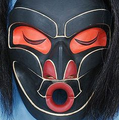 The Other Other version of the Native American Dzunukwa Mask - Kwakiutl Indian mask