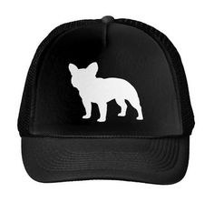 3aa51f19b7c French Bulldog Letters Print Baseball Cap Trucker Hat For Women Men Unisex  Mesh Adjustable Size Black