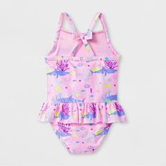 bcbd31fc1c9c5 Toddler Girls' Coral One Piece Swimsuit - Cat & Jack™ Pink
