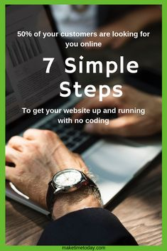 7 simple steps to get your site online with no coding required Business Website, Online Business, Outlook 365, Sign Up Page, Email Client, Create Your Own Website, Building A Website, Up And Running, About Me Blog